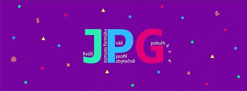 Úvodní fotografie (Cover photo) ve formátu JPG