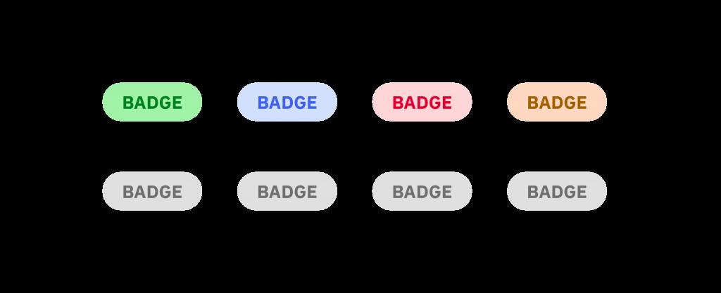Badges 1024x417 - Jak tvořit systematické barvy pro digitální produkty
