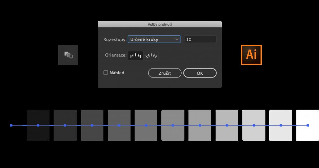 Gray palette 0 100 linear 5 1024x541 - Jak tvořit systematické barvy pro digitální produkty